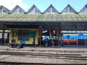 Yangon / Mandalay ou la SNCF birmane