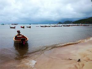 Koh Tao sous la pluie