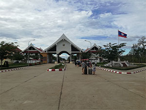 Passer la frontière du Cambodge au Laos, easy ! ou pas…