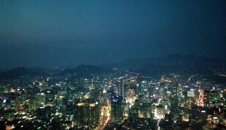la tour N Seoul